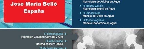 Participación en el Primer Congreso Nacional de Fisioterapia en agua y trauma de Venezuela