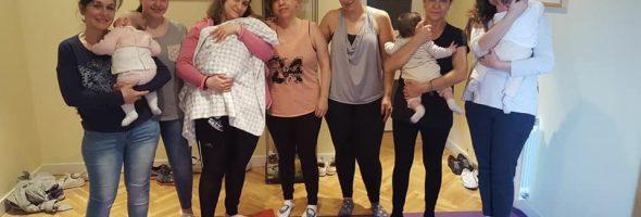 Finalización del cuarto curso de masaje para bebés de 2018