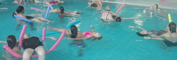 Tabla de ejercicios de tobillo para realizar en piscina