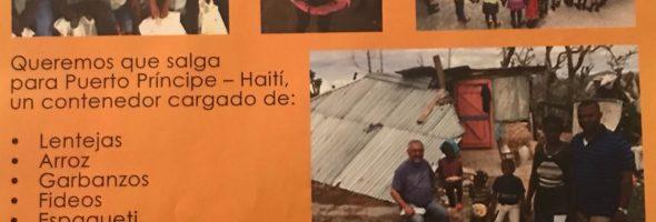 Campaña de Navidad 2017-18: Un contenedor de comida para Haití
