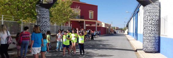 Colaboración en la carrera del CEIP Azorín de Argamasilla de Alba